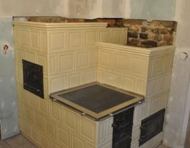 Budowa kuchni kaflowej z wężownicą